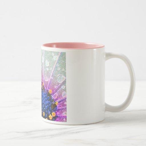 Felicidad interna tazas de café