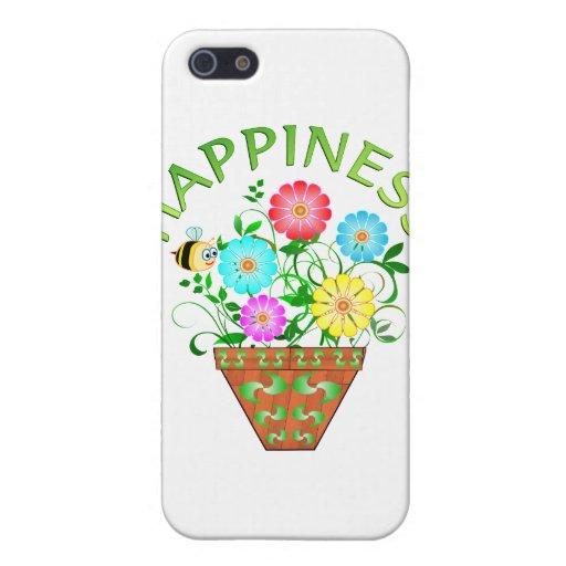 Felicidad iPhone 5 Funda