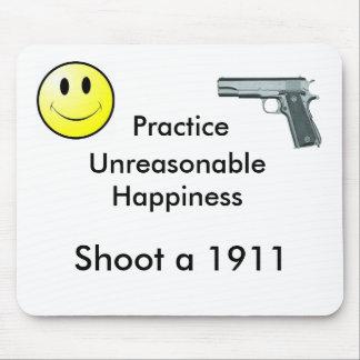 Felicidad irrazonable de la práctica mousepads