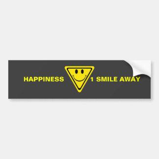 Felicidad Pegatina Para Auto