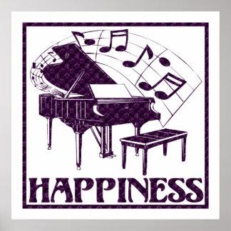 Felicidad: Piano Poster
