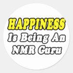 Felicidad… RMN Guru Etiqueta Redonda