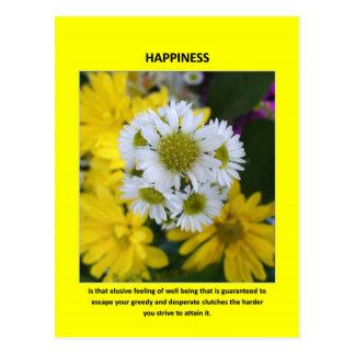 felicidad-ser-que-evasivo-sensación-de-bien-siendo tarjeta postal