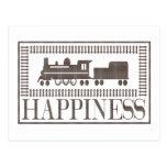 Felicidad: Trenes del modelo Postales