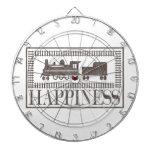 Felicidad: Trenes del modelo Tablero Dardos