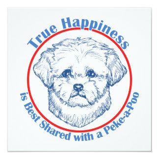Felicidad verdadera con un Peke-a-Poo Anuncio