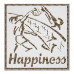 Felicidad: Voleibol Posters