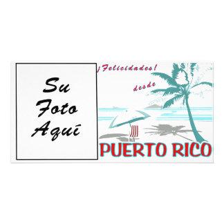 ¡Felicidades desde Puerto Rico! Photo Card