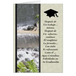 Felicidades en tu Graduacion Card