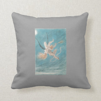 Felicien Rops- The Satanic. Removal Throw Pillows