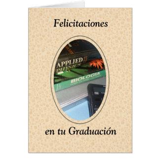 Felicitaciones en tu graduacion card