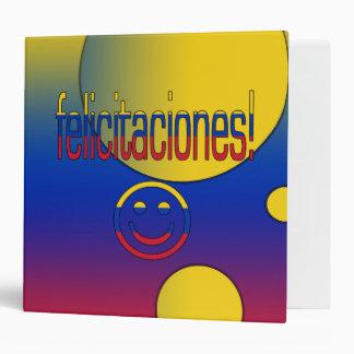 ¡Felicitaciones! La bandera de Venezuela colorea a