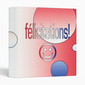 """¡Félicitations! La bandera francesa colorea arte Carpeta 1"""""""