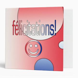 """¡Félicitations! La bandera francesa colorea arte Carpeta 2"""""""
