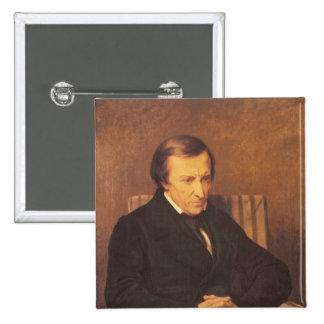 Felicite Roberto de Lamennais, 1845 Pin Cuadrado