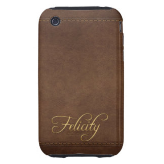 FELICITY Leather-look Customised Phone Case