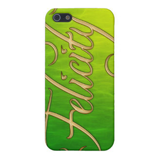 FELICITY Name Branded iPhone Cover