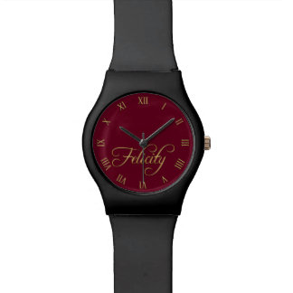 FELICITY Name-Branded Wrist Watch Gift