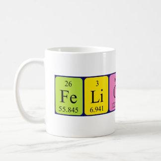 Felicity periodic table name mug