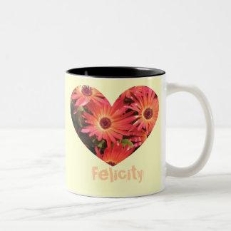 Felicity Two-Tone Coffee Mug