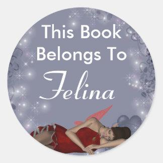 Felina Classic Round Sticker