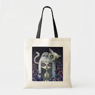 Felina de los muertos canvas bag