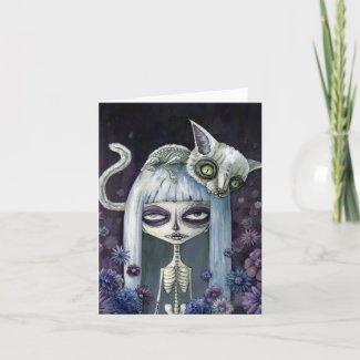 Felina de los muertos card
