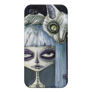 Felina de los muertos case for iPhone 4