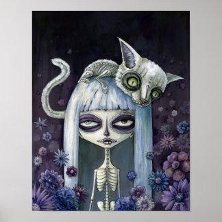 Felina de los muertos poster