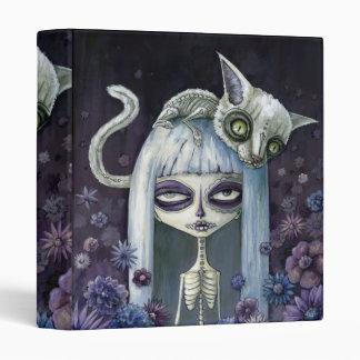 Felina de los muertos vinyl binder