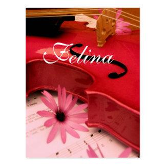 Felina Postcard