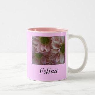 Felina Two-Tone Coffee Mug