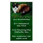 Feline Beauty Business Cards