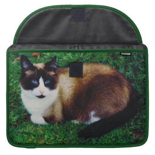 Feline Beauty MacBook Pro Sleeve