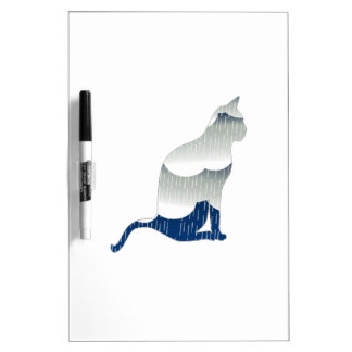 Feline Bliss Dry Erase Board
