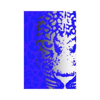 Feline Face Gallery Wrap Canvas