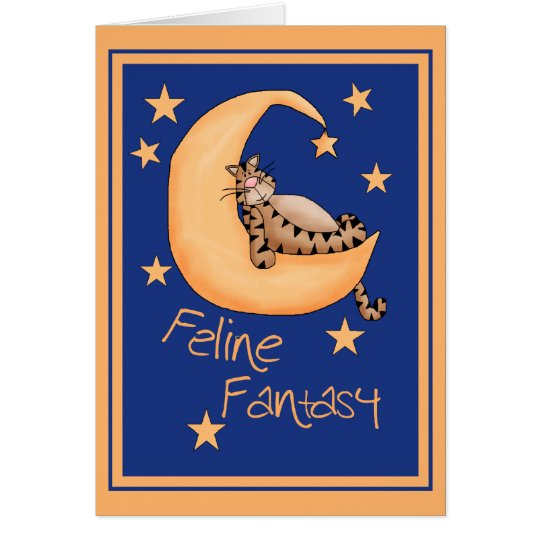 Feline Fantasy Card