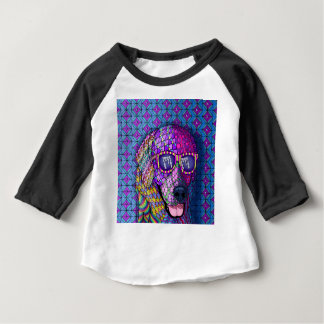 Feline Fascination Baby 3/4 Sleeve Raglan T-shirt