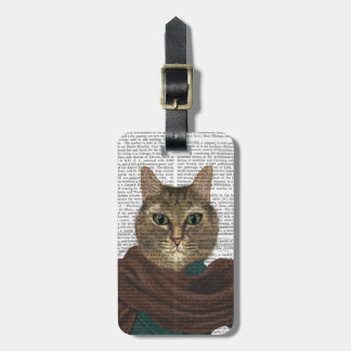 Feline Fashionista Luggage Tag