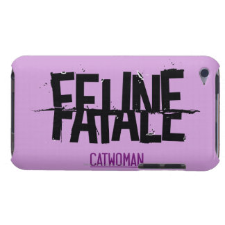 Feline Fatale Barely There iPod Cover