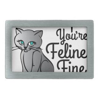 Feline Fine Belt Buckles