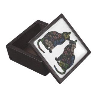 Feline Flowers Premium Jewelry Boxes