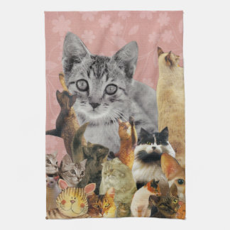 Feline Follies Kitchen Towel