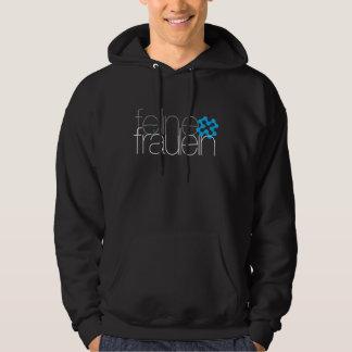 feline fräulein blue logo unisex Hoodie