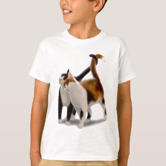 Feline Friends Kids T-Shirt