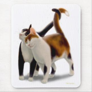 Feline Friends Mousepad