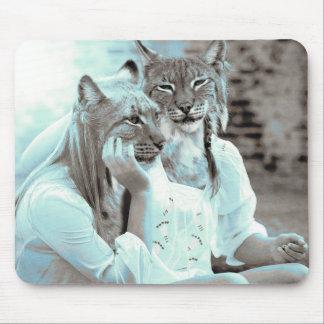 Feline Girls Mousepad