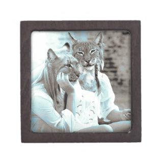 Feline Girls Premium Keepsake Box