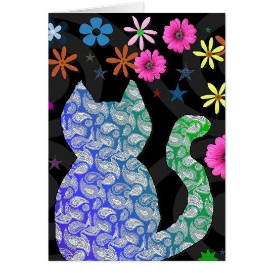 Feline Groovy Card