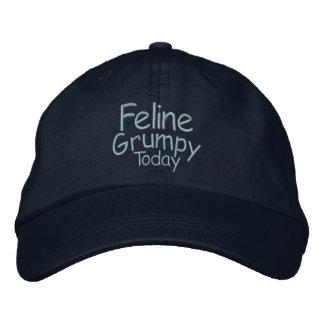 Feline Grumpy Today Cap